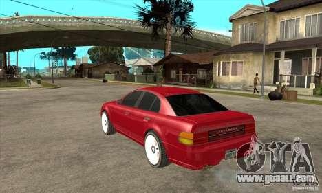 GTA IV Intruder for GTA San Andreas back left view