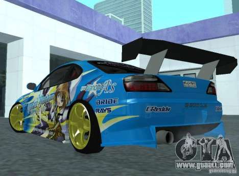 Nissan Silvia S15 for GTA San Andreas