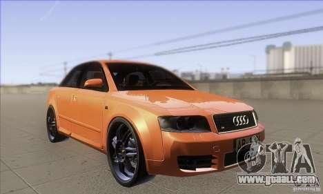 Audi S4 DIM for GTA San Andreas back view
