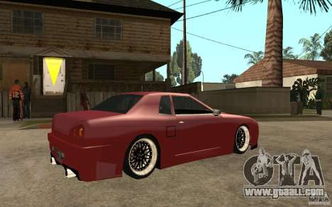 Elegy Modified for GTA San Andreas right view