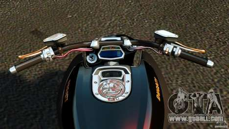 Ducati Diavel Carbon 2011 for GTA 4 back view