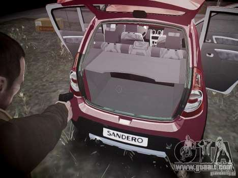 Dacia Sandero Stepway for GTA 4 wheels