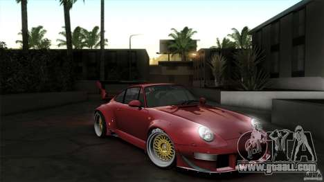 Porsche 993 RWB for GTA San Andreas