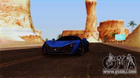 ENBSeries by egor585 for GTA San Andreas fifth screenshot