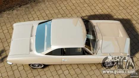Chevrolet Corvair Monza 1969 for GTA 4 right view