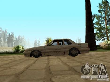 Air suspension for GTA San Andreas third screenshot
