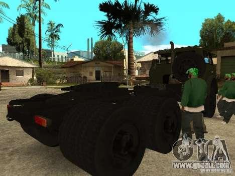 MAZ 515V for GTA San Andreas right view