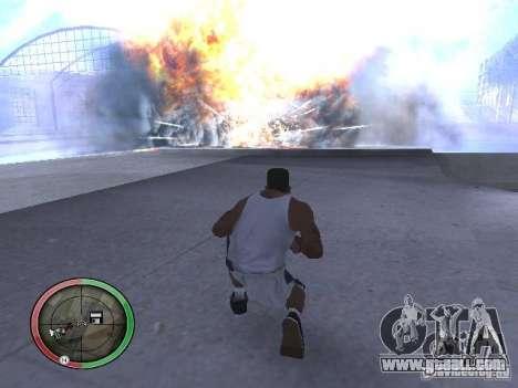 Dynamite MOD for GTA San Andreas fifth screenshot