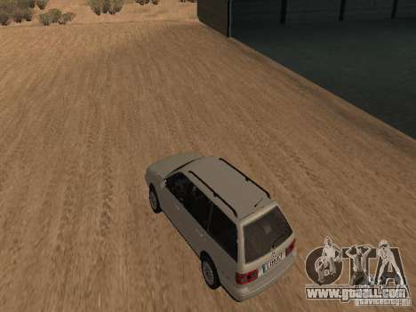 Volkswagen Passat B4 for GTA San Andreas back left view
