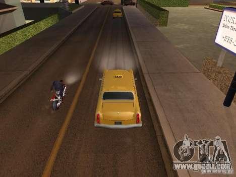 Motorcycle jump in my car for GTA San Andreas