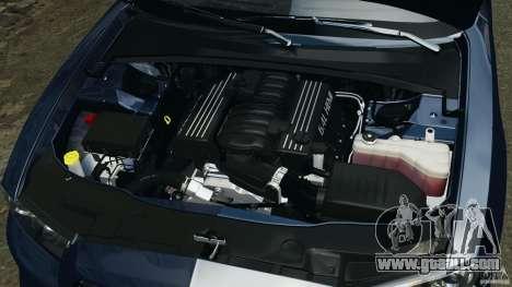 Dodge Charger SRT8 2012 v2.0 for GTA 4 upper view
