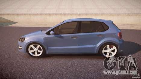 Volkswagen Polo 2011 for GTA 4 left view