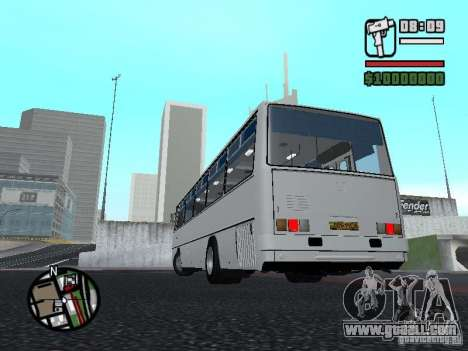 Ikarus 266 City for GTA San Andreas back left view