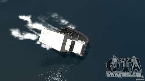 Benson boat for GTA 4 right view
