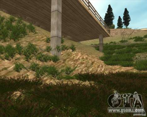 Grass form Sniper Ghost Warrior 2 for GTA San Andreas