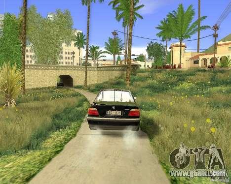 BMW 730i E38 1996 for GTA San Andreas left view