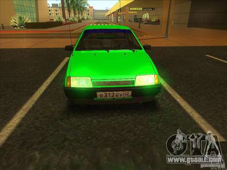 VAZ 2109 Winter for GTA San Andreas right view