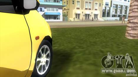 Renault Twingo for GTA Vice City back view