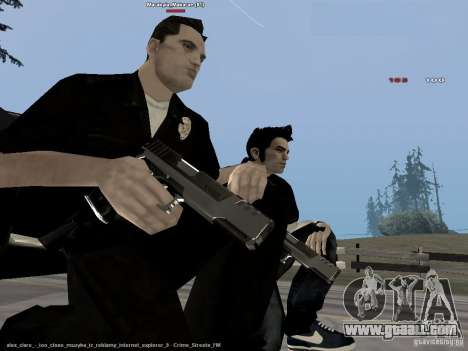 Black & White guns for GTA San Andreas forth screenshot