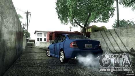 Subaru Legacy B4 3.0R specB for GTA San Andreas right view