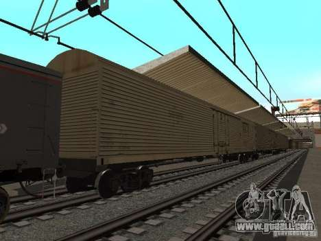 RAILWAY mod IV final for GTA San Andreas ninth screenshot
