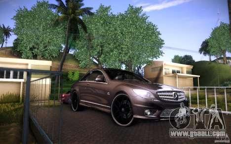 Mercedes Benz CL65 AMG for GTA San Andreas