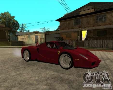 Ferrari ENZO 2003 v.2 final for GTA San Andreas right view