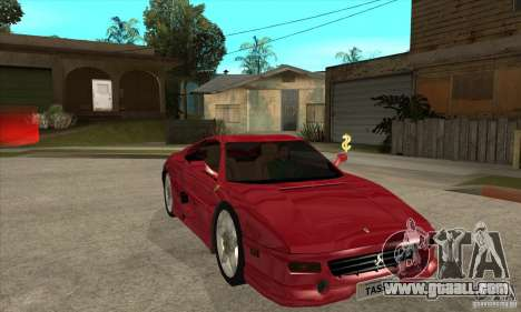 Ferrari F355 GTS for GTA San Andreas back view