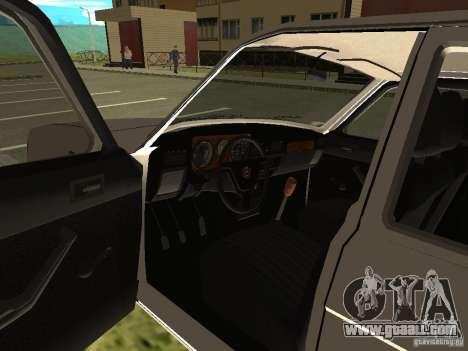 GAZ Volga 31022 for GTA San Andreas back view