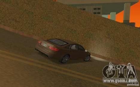 Audi RS6 TT Black Revel for GTA San Andreas right view