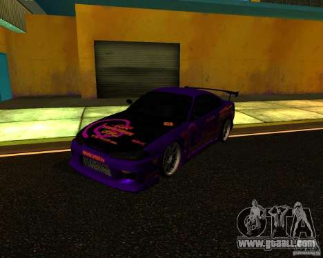 Nissan Silvia C-West for GTA San Andreas