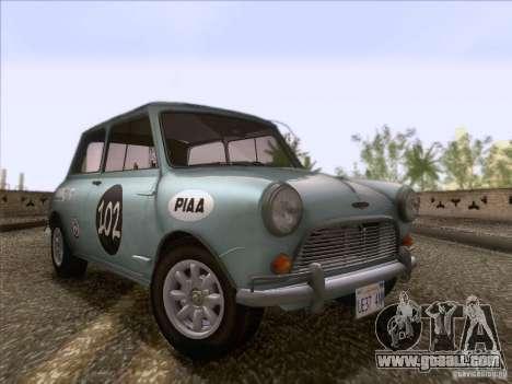 Austin Cooper S 1965 for GTA San Andreas wheels