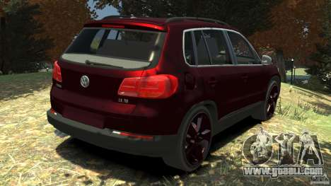 Volkswagen Tiguan 2012 for GTA 4 back left view
