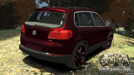 Volkswagen Tiguan 2012 for GTA 4 back left view