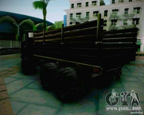 KAMAZ 4310 Army for GTA San Andreas left view