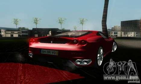 Ferrari F430 for GTA San Andreas left view