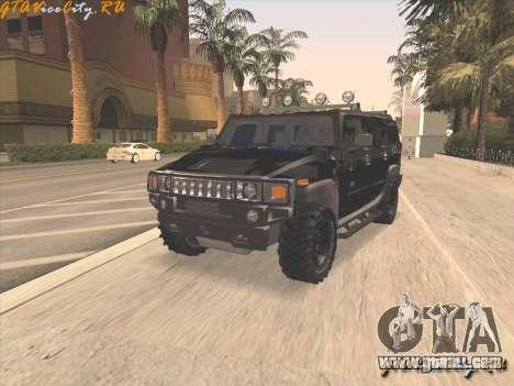 FBI Hummer H2 for GTA San Andreas