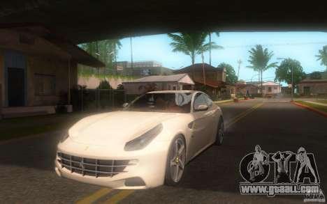 Ferrari FF for GTA San Andreas