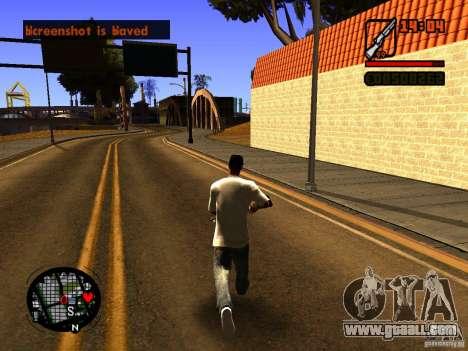 GTA IV Animation in San Andreas for GTA San Andreas second screenshot