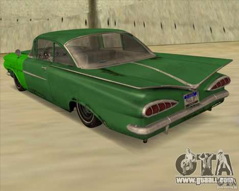 Chevrolet Biscayne 1959 for GTA San Andreas left view