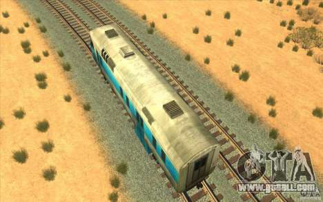 A train from the game half-life 2 for GTA San Andreas