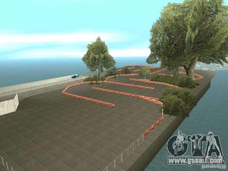 New Drift Track SF for GTA San Andreas third screenshot