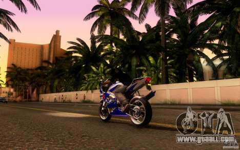 Suzuki GSXR 750 Limited v1.0 for GTA San Andreas right view