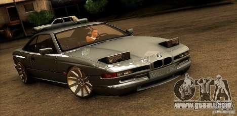 BMW 850 CSI for GTA San Andreas