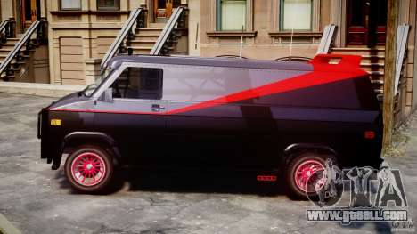 GMC Van G-15 1983 The A-Team for GTA 4 left view