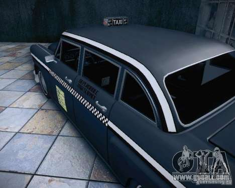 Diablo Cabbie HD for GTA San Andreas inner view