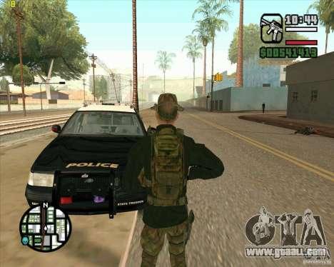 Skin Praice from COD 4 for GTA San Andreas third screenshot