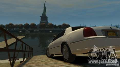 Lincoln Town Car 2003-11 v1.0 for GTA 4 left view