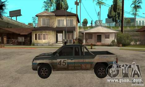 Nevada from FlatOut 2 for GTA San Andreas left view