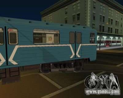 Animtrain for GTA San Andreas second screenshot